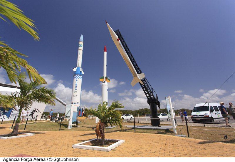 Lançamento de sonda no Centro de Lançamento da Barreira do Inferno.